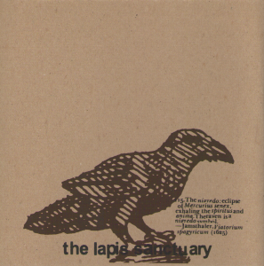 The Lapis Sanctuary - Front Sleeve